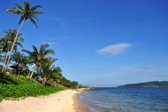 海滩rayong 免版税图库摄影