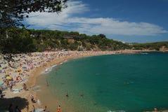 海滩sa conca 图库摄影