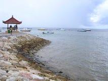 海滩sanur 免版税库存图片