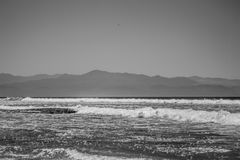 海滩sesation 免版税图库摄影
