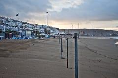 海滩tenerife 库存图片