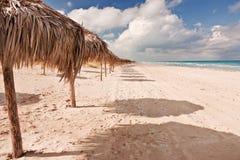 海滩varadero 库存照片