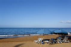 海滩wailea冬天 免版税图库摄影