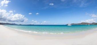 海滩whitehaven 库存图片