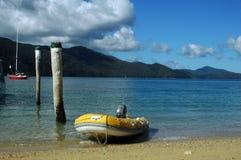 海滩whitsundays 免版税库存图片