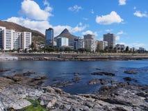 从海点散步的看法在开普敦,南非 免版税库存照片