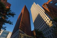 海牙地平线大厦在荷兰 免版税图库摄影