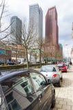 海牙现代城市地平线建筑学  免版税库存照片