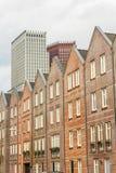 海牙现代城市地平线建筑学  免版税图库摄影