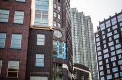 海牙,荷兰- 10月18 :现代海牙小室Haag市中心建筑学  荷兰 免版税图库摄影