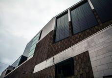 海牙,荷兰- 10月18 :现代海牙小室Haag市中心建筑学  荷兰 库存图片