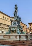 海王星喷泉,波隆纳 免版税库存照片