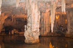 海王星的洞穴 库存照片
