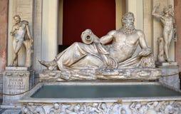海王星雕塑 免版税图库摄影