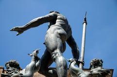 海王星,波隆纳,意大利 免版税库存照片
