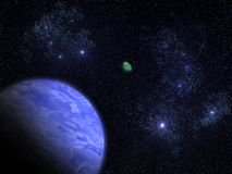 海王星 库存照片