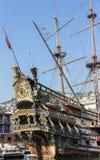 海王星galleon 免版税库存图片