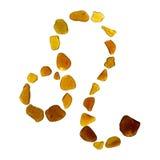 海玻璃占星术标志 库存照片