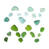 海玻璃占星术标志 免版税库存照片