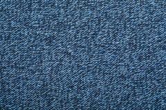 海瑟蓝色被编织的织品织地不很细背景 免版税库存照片