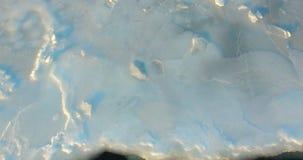 海的冰面在阿穆尔湾 影视素材