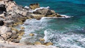海的加勒比最美丽的海在世界上! 股票录像
