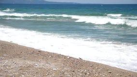 海的基于,海滩的基于 股票视频