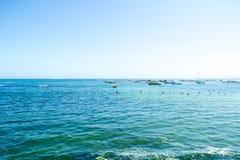 海的宽射击 库存照片