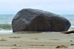 海的岸 库存照片
