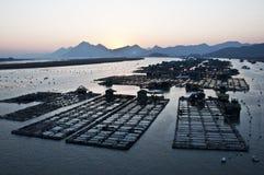 海的工作者 免版税图库摄影