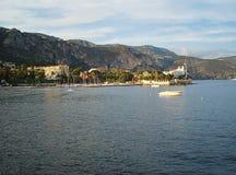 从海的比尤利视图 免版税库存图片