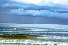 海的波浪 库存照片
