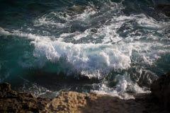 海的波浪 免版税库存图片