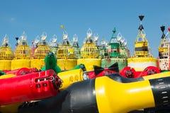 海的浮体 免版税库存照片