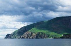 黑海的海岸 免版税库存图片