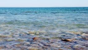 海的海景和海岸线 影视素材