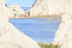 黑海的盐水湖 免版税库存图片