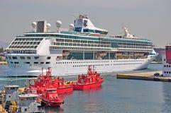 海的辉煌比雷埃夫斯,希腊港的  库存图片