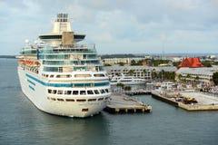 海的雄伟在基韦斯特岛,佛罗里达 免版税库存图片