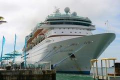 海的雄伟在基韦斯特岛,佛罗里达 库存图片