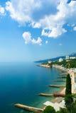 黑海的风景 免版税图库摄影