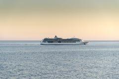 海的MS珠宝日落的 免版税图库摄影