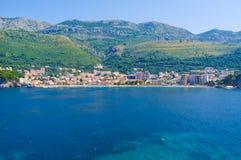 从海的Petrovac 免版税图库摄影