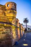 海盗堡垒的塔 免版税库存图片