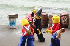 海盗小海湾展示 免版税库存照片