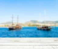 海盗小船 库存图片