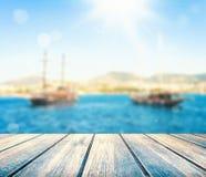 海盗小船 图库摄影