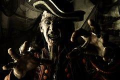 海盗愤怒 库存照片