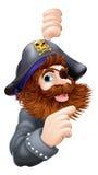海盗指向 免版税库存照片