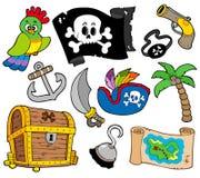 海盗收集 库存图片
